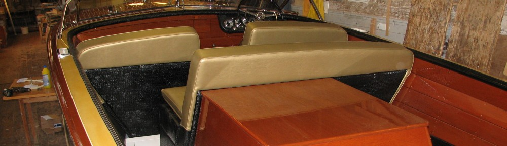 Chris Craft mahogany fifties